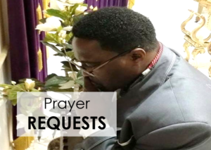 Prayer Requests tab