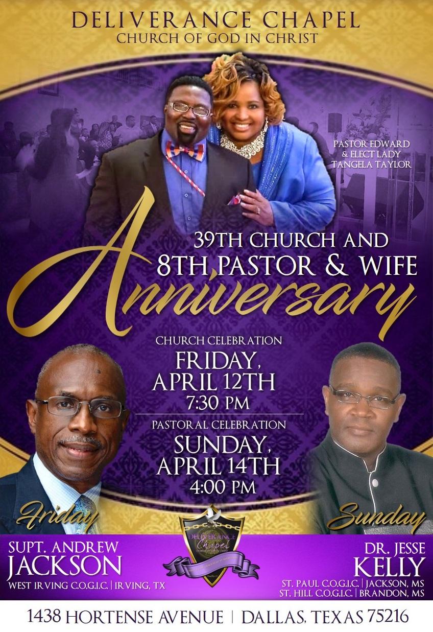 39th Church Anniversary
