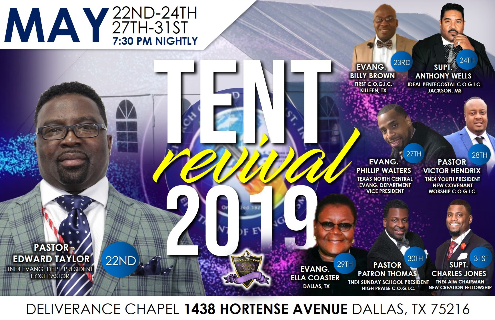 Tent Revival 2019 – Part II