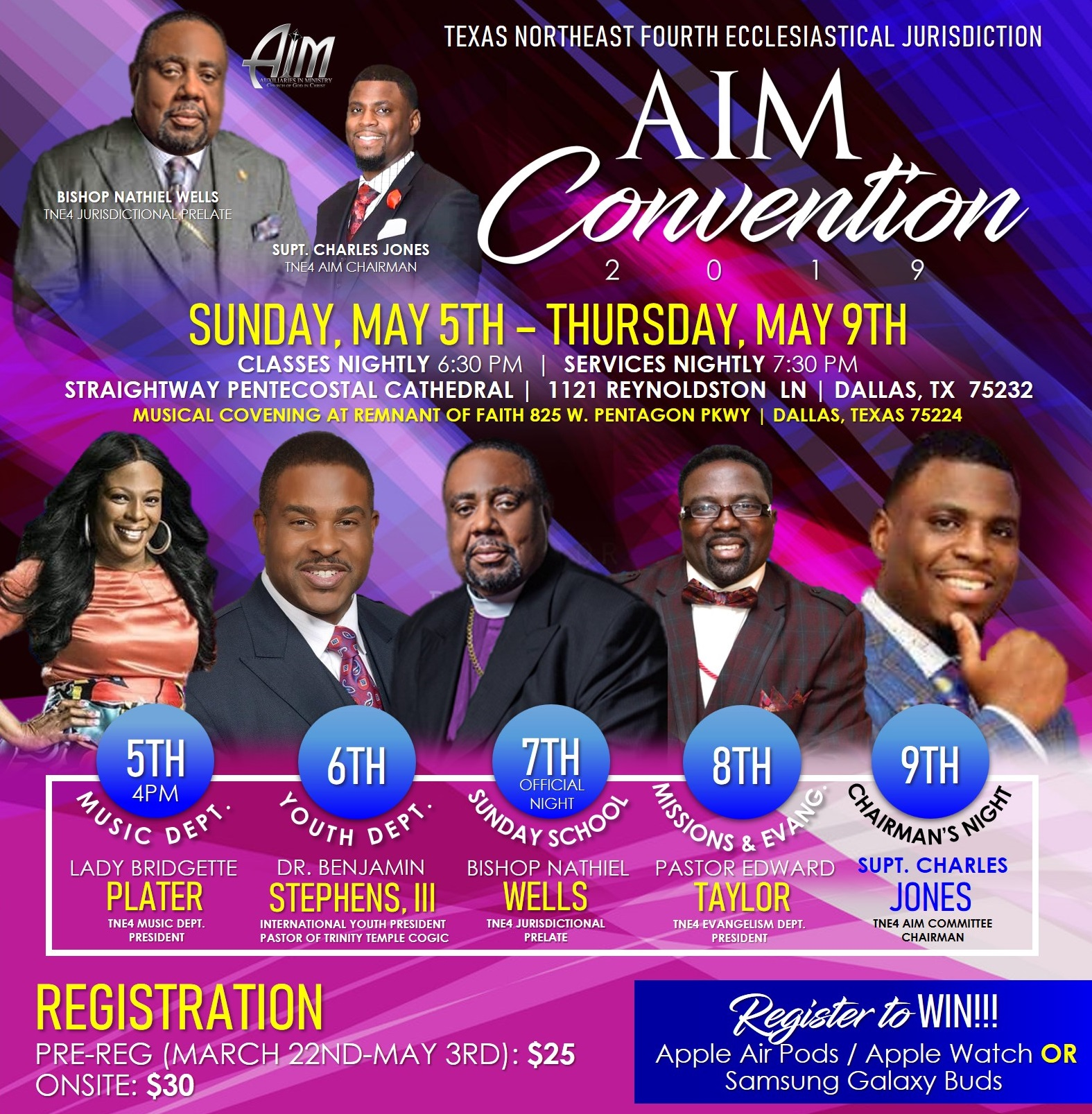 AIM Speaking Engagement: Pastor Edward Taylor