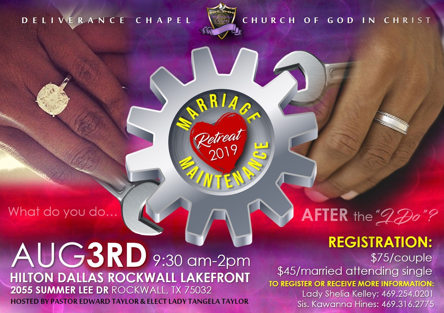 Marriage Maintenance Retreat 2019