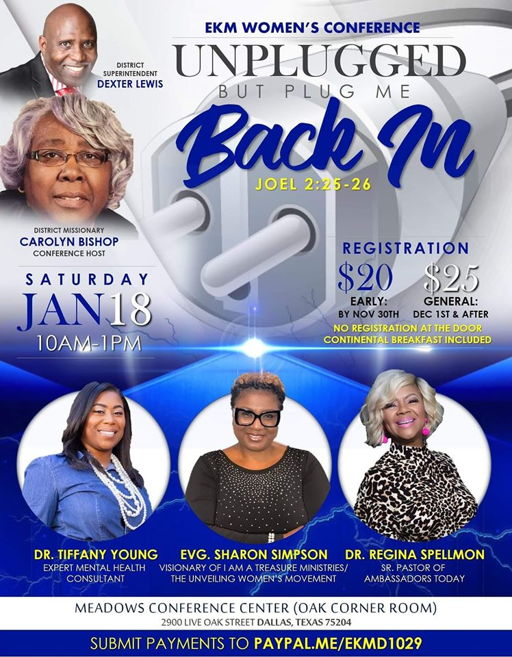 EKM Women's Conference: Unplugged But Plug Me Back In