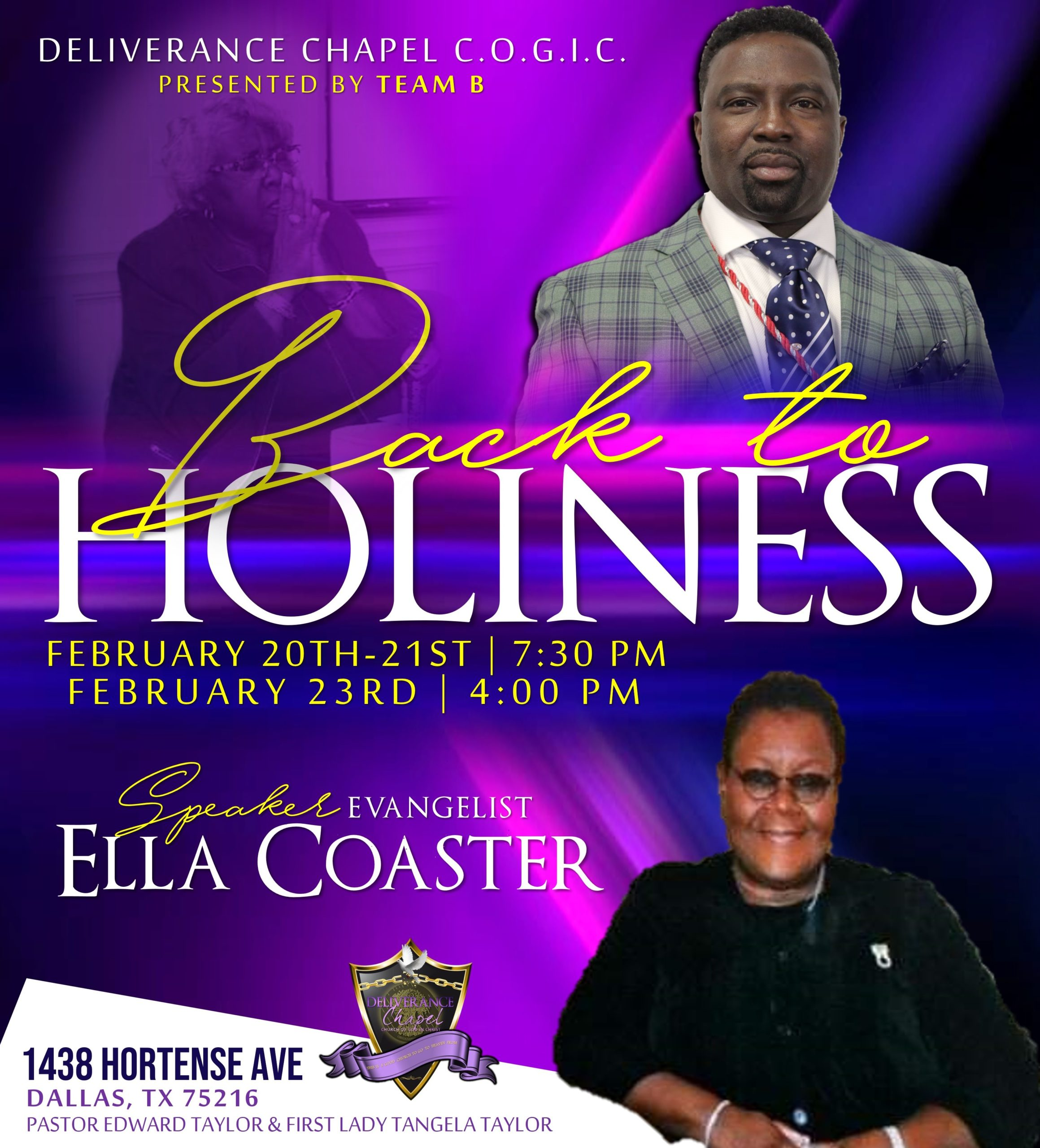 Back to Holiness Revival
