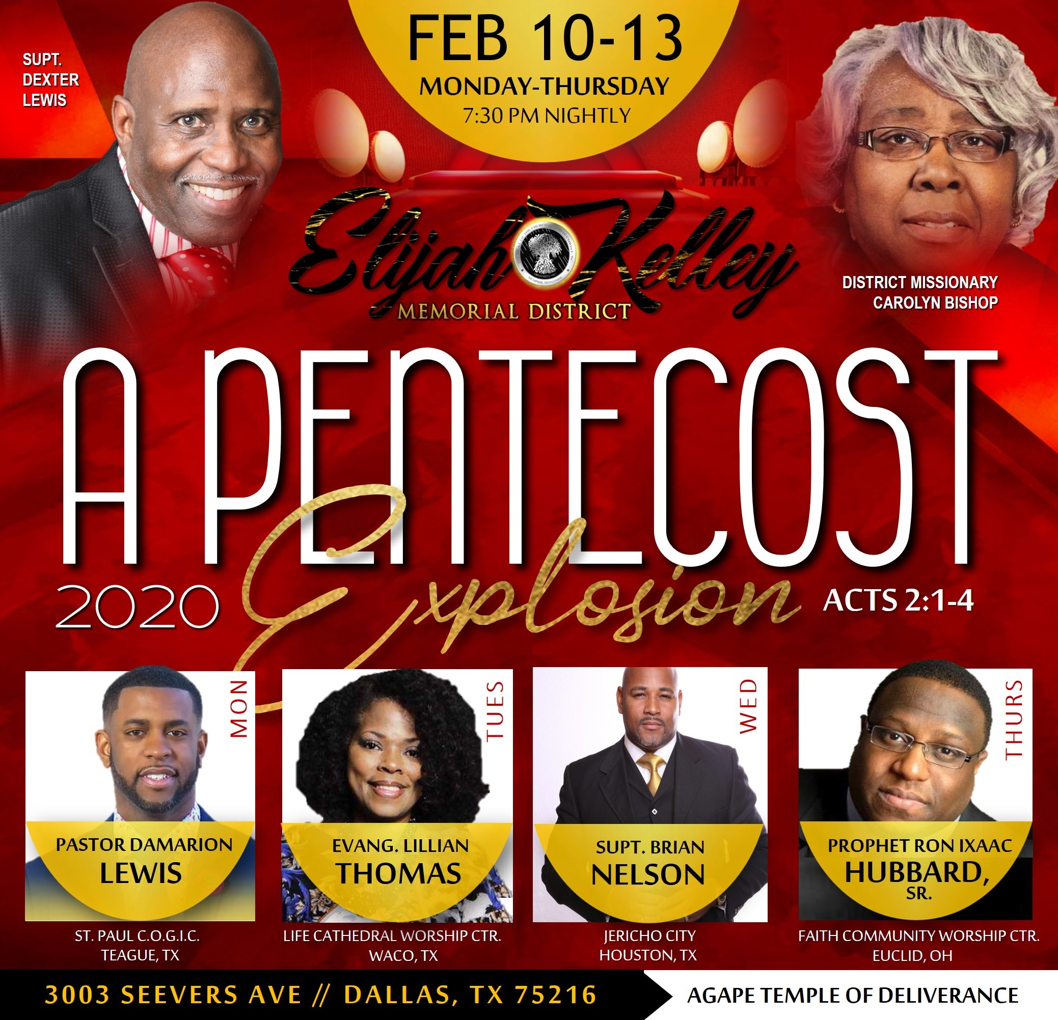 "EKM District Meeting "" A Pentecost Explosion"""