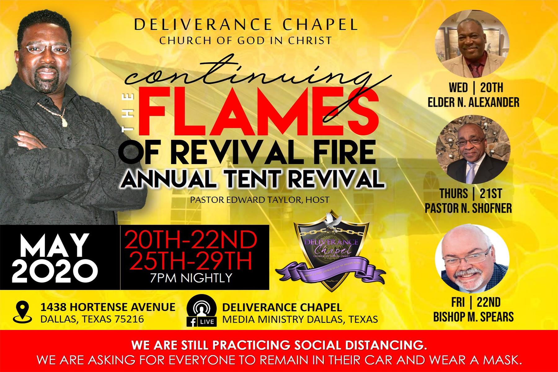 Tent Revival 2020 – Part I