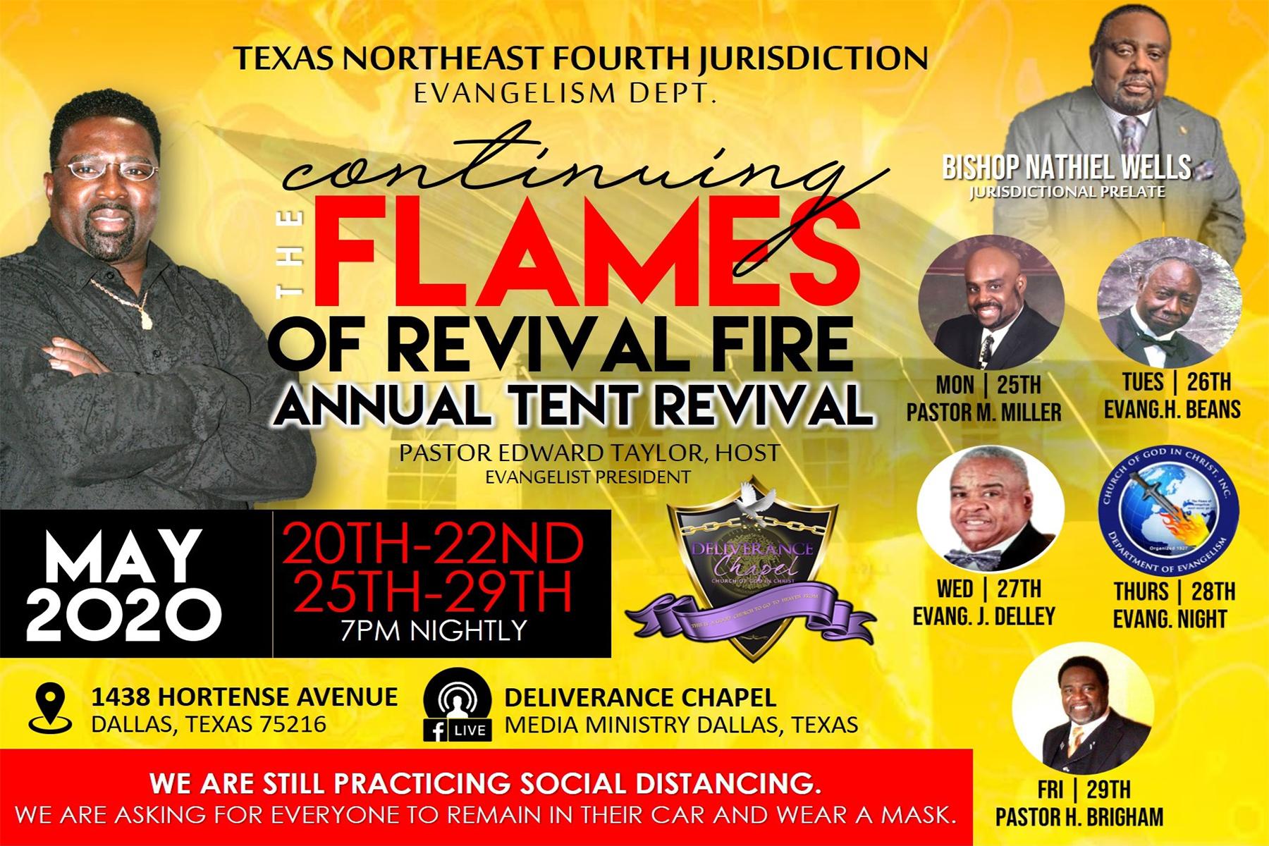 Tent Revival 2020 – Part II
